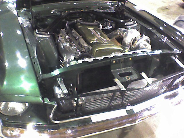 Nissan Rb26 Powered Mustang 67mustangblog