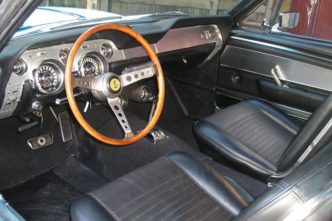 1967 ford mustang shelby gt350 interior