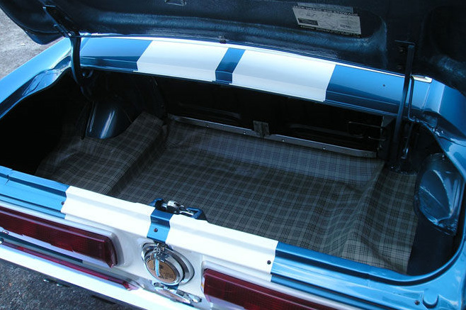 1967 Ford Mustang Shelby Gt350 Trunk 67mustangblog