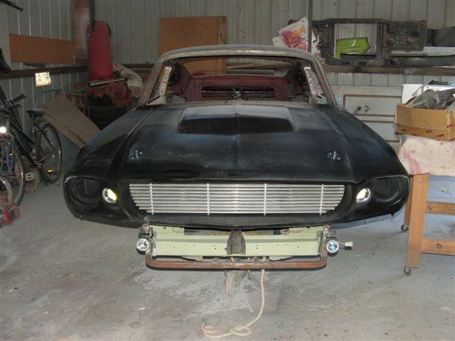 1967 Eleanor Mustang Parts
