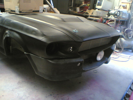 1967 Ford Mustang Eleanor nose and hood