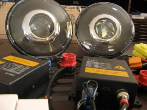 Bosch Xenon projector headlights with d2s