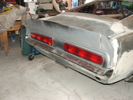 Shelby rear tail lights assembly