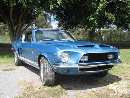 1968 Ford Mustang Fastback Shelby GT500KR.