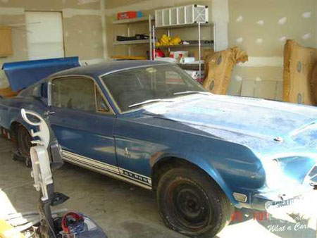 1968 Ford Mustang Shelby GT500 28Dec