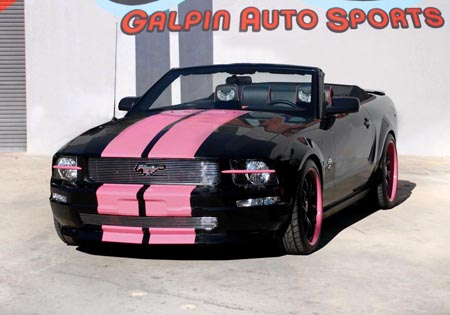 Convertible Auto Racing on Galpin Auto Sports Warriors In Pink Giveaway