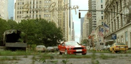 Shelby GT500 in I Am Legend with Will Smith