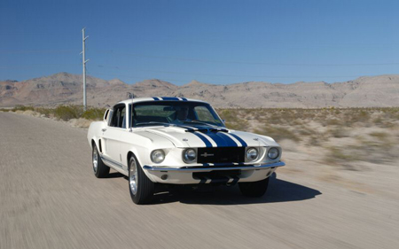 1967 Ford Mustang Shelby Supersnake GT40 One of One Goodyear