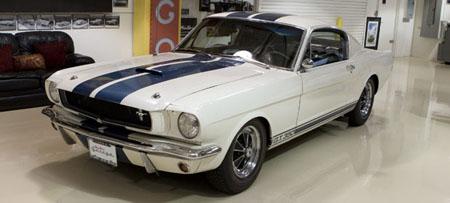 jay leno 1965 shelby cobra gt350