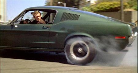 Steve mustang bullitt san francisco chase