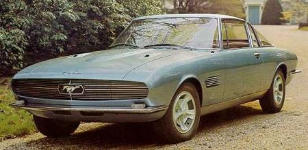1965 ford mustang by bertone (giugiaro)