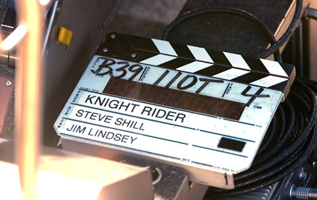 Knightrider On Set Behind The Scenes Kitt GT500KR