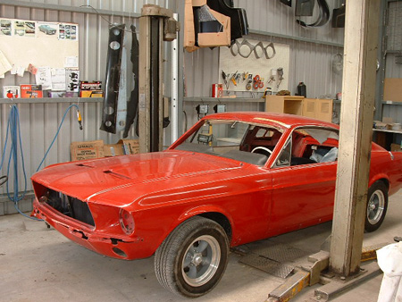Camerons 1967 Ford Mustang Fastback 289 A-Code with Marti Report