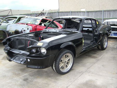 Unique Performance Rosen Auctions Online Mustang Shell