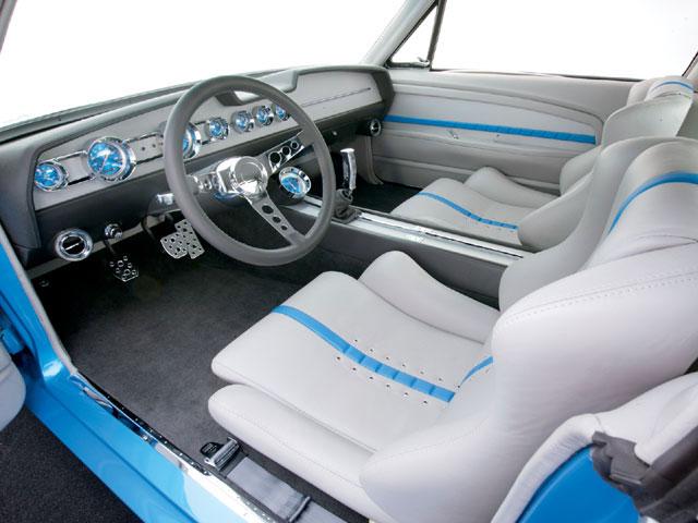 Art Morrison Twin Turbo 1967 Ford Mustang Fastback Interior 67mustangblog