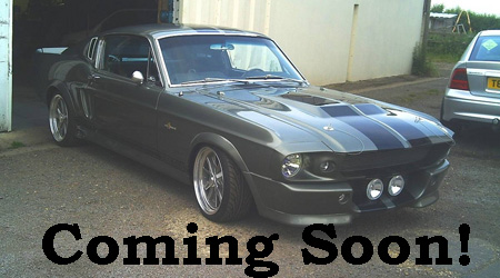 Eleanor Mustang GT500 Shelby Coming Soon