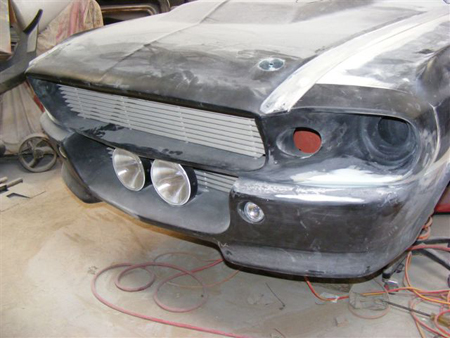 Tobys Eleanor Project with body kit and Right Hand Drive