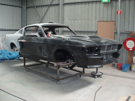 Damian's 1967 Ford Mustang Fastback Eleanor Project