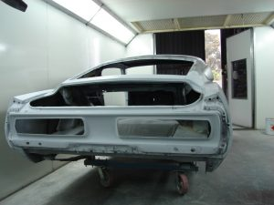 Tobys 1968 Ford Mustang Fastback Eleanor Paint Booth