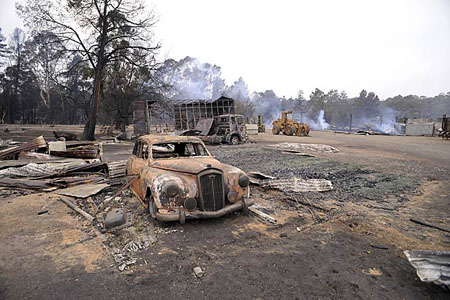 Australian Bushfire Disaster Victoria