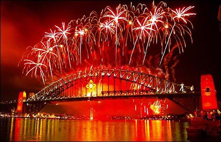 Sydney - NYE Fireworks