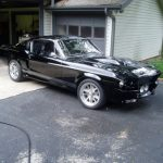 Richard's 1967 Ford Mustang Super Snake Elenaor GT500 Garage Cover