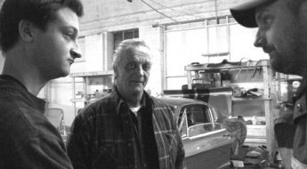 TOP CENTER: Memory Lane Classics owners (from left) Edwin Verdung, Scott Verdung, and employee Jason Kilduff