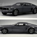 Fordimages 1967 fastback mach1 concept