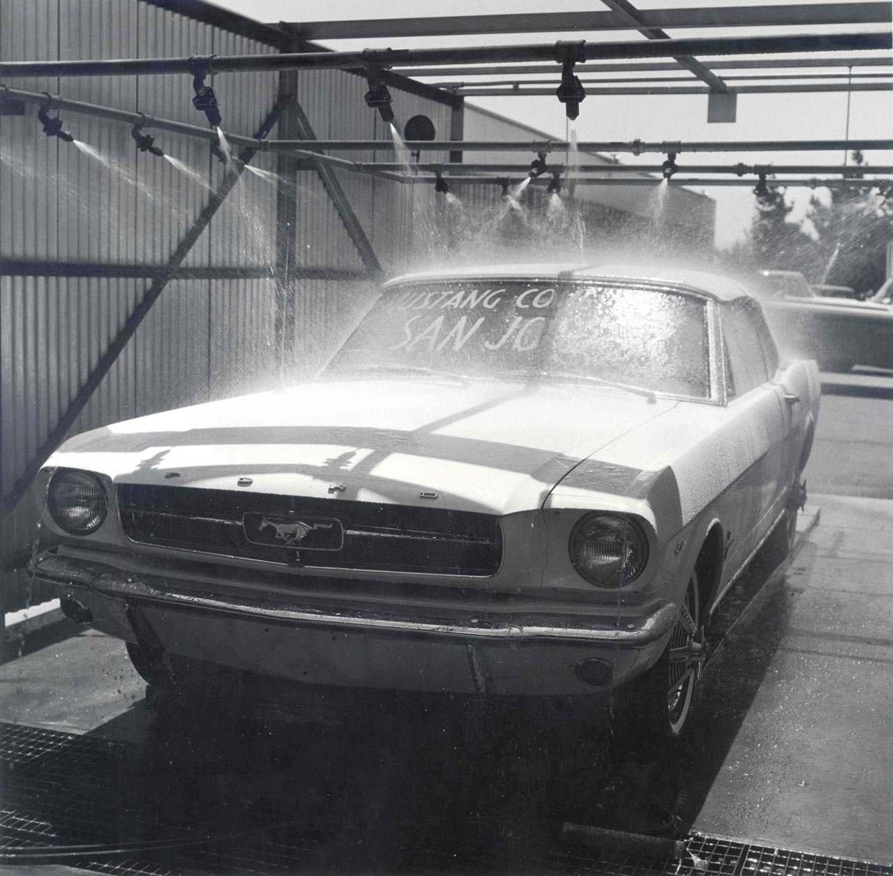 Fomoco Release New 1964 Mustang Production Images