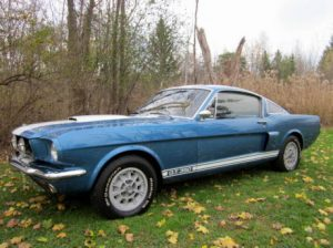 barn find shelby gt350 cover