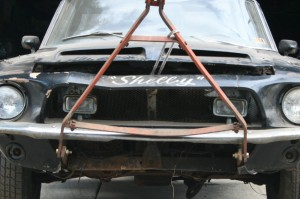 barn find 1968 shelby gt500 convertible cover11