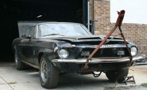 barn find 1968 shelby gt500 convertible cover8