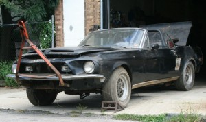 barn find 1968 shelby gt500 convertible cover9
