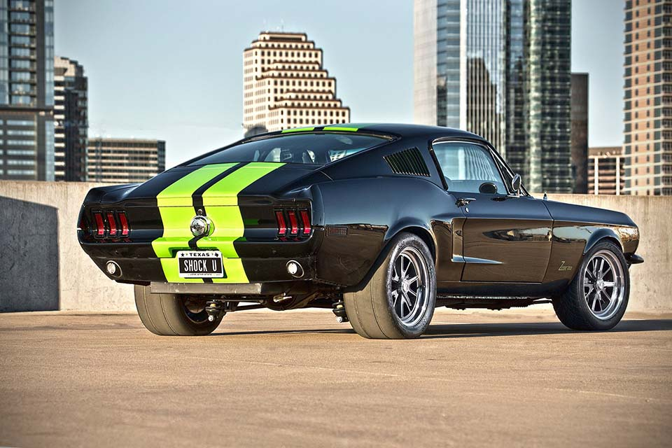 The All Electric Ford Mustang Zombie Mustangblog - Cool zombie cars