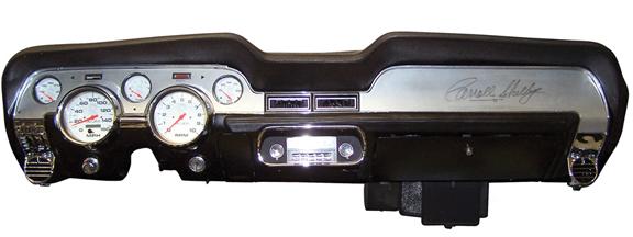 67-8 Mustang FA Dash